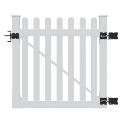 WamBam Vinyl picket fence gate